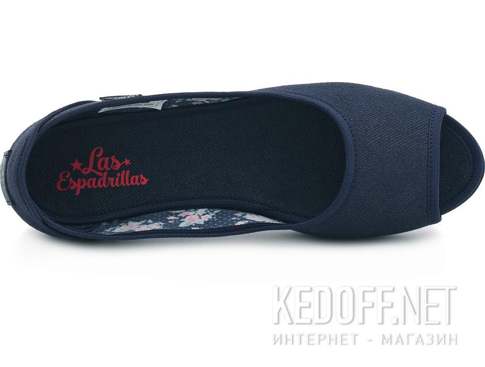 Балетки Las Espadrillas Dark Navy Jeans 72335-80