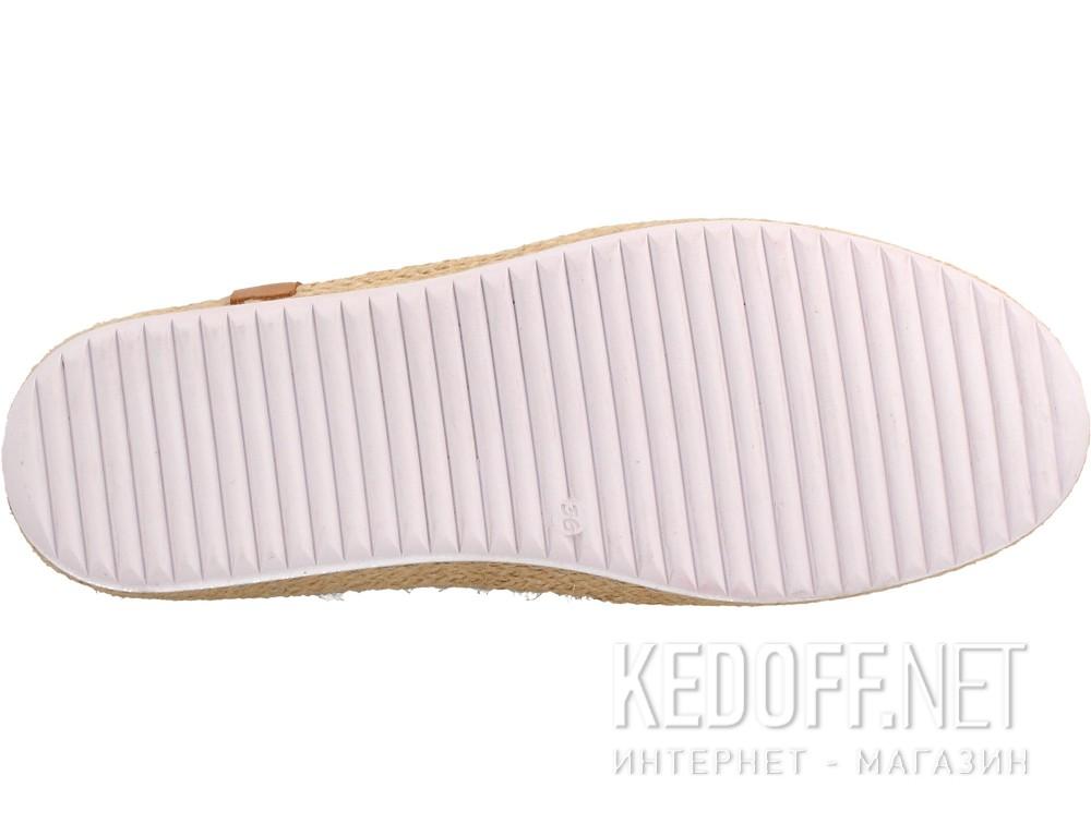 Кожаные мокасины Las Espadrillas 10119-34   (розовый) купить Киев