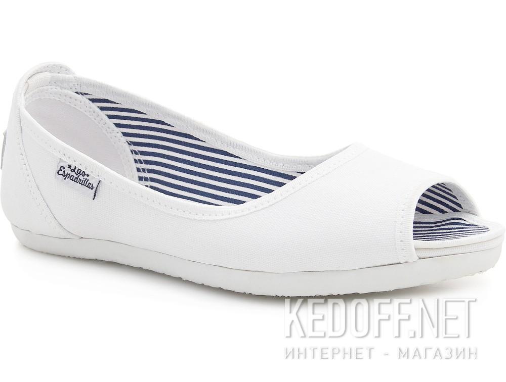 Балетки Las Espadrillas 72335-13   (белый) купить Украина