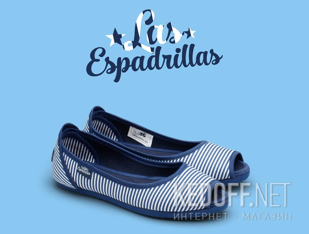 Балетки Las Espadrillas Stripes Ballerinas 72335-8913