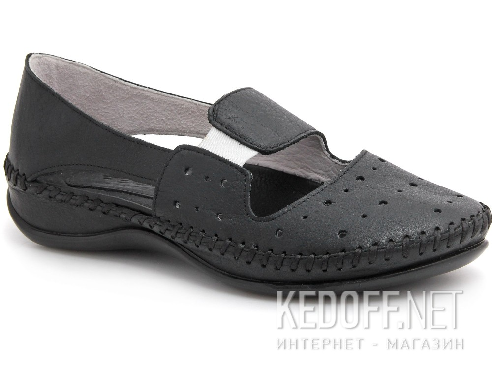 Балетки Forester 125-108 D   (чёрный)
