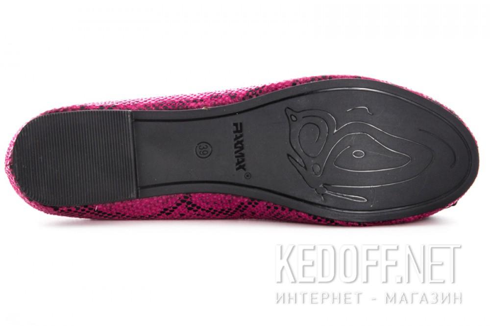 Балетки Raxmax 12582-3   (баклажановый /розовый)
