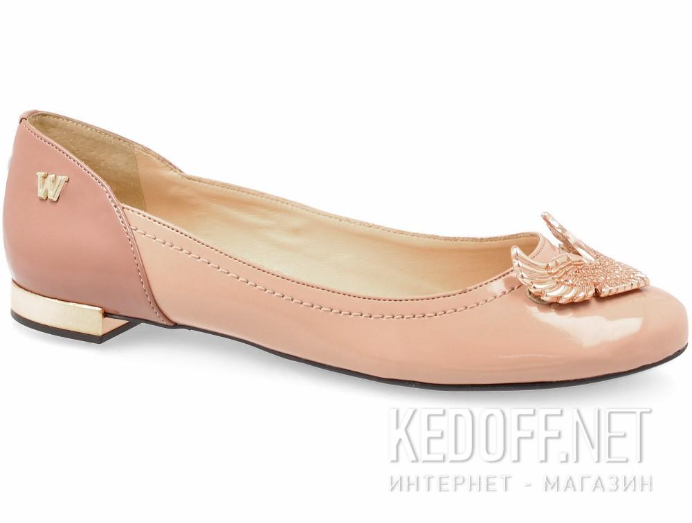 Купить Женские балетки Werner 062068-34   (розовый)