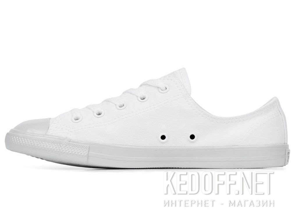 White sneakers Converse Chuck Tailor All Star Dainty OX 563475C