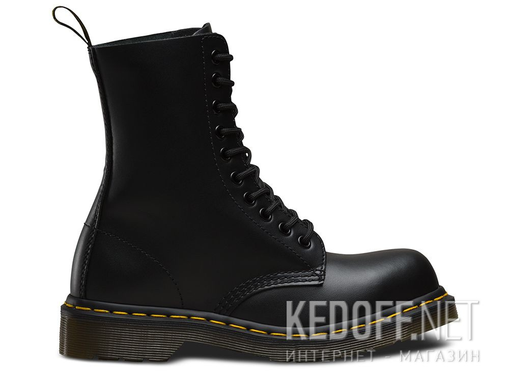 7d3a91a5c37 Shop Ankle Boots Dr. Martens 1919 Black Fine Haircell DM10105001 at ...