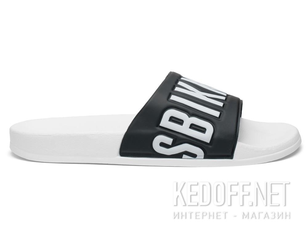 Оригинальные Тапочки Dirk Bikkembergs Swimm 108367-13 Made in Italy унисекс   (чёрный/белый)