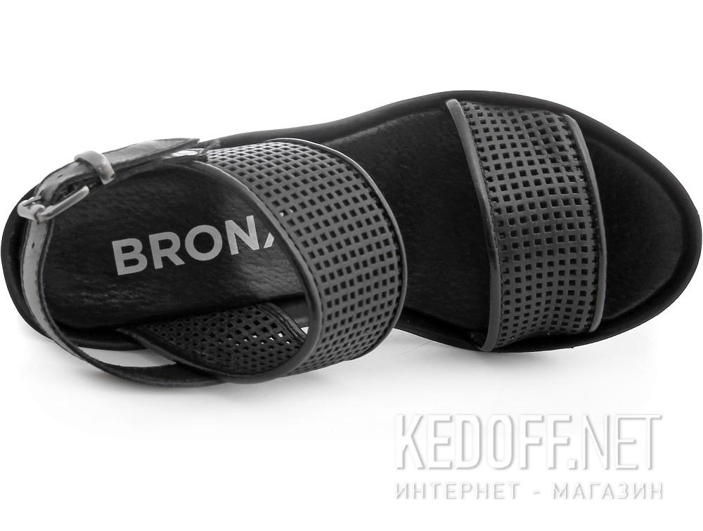 Оригинальные Женские босоножки Bronx 84342-27   (чёрный)