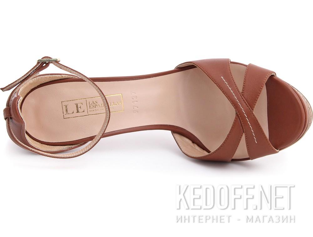 Оригинальные Женские туфли Las Espadrillas 0197127-45   (светло-коричневый)