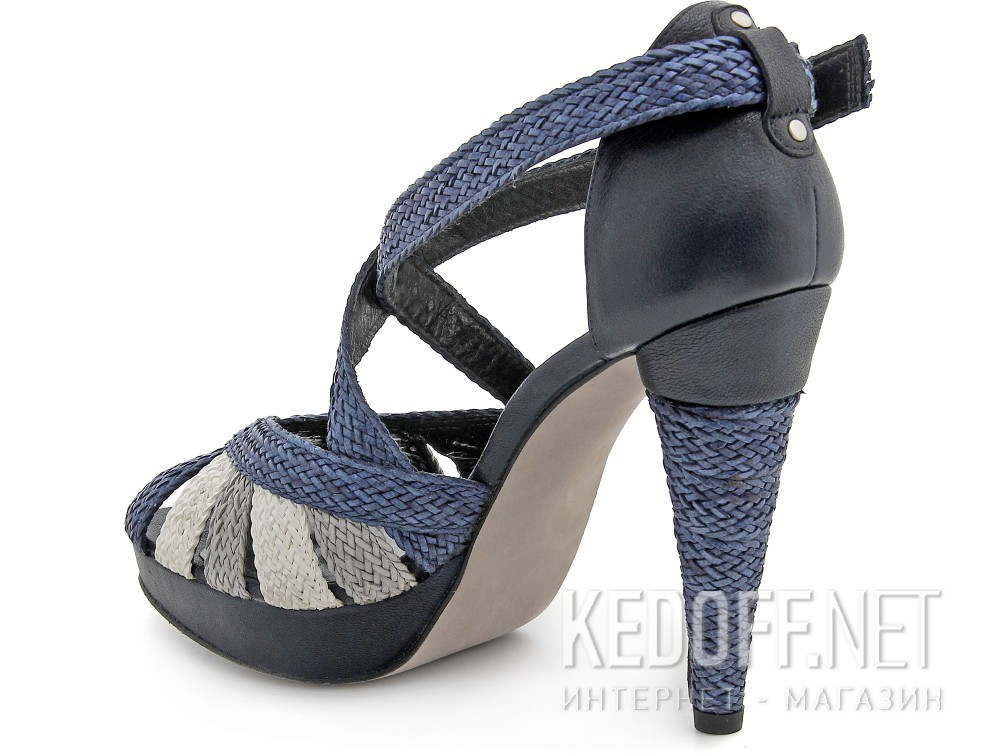 Сандалии Stuart Weitzman 54394  (бежевый/синий) купить Украина