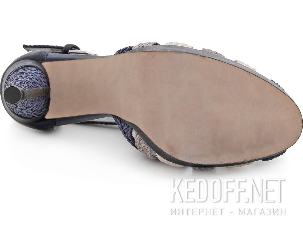 Сандалии Stuart Weitzman 54394  (бежевый/синий) купить Киев