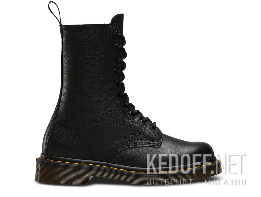 d9ebe86519b Shoes Dr. Martens Black 1490-DM22524001 Virginia Leather купить Украина