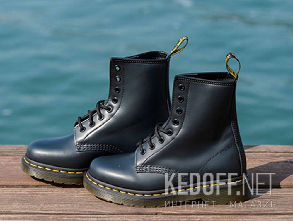 4bdf3010696 Shop Shoes Dr. Martens Pascal Navy Smooth 1460-10072410 at Kedoff ...