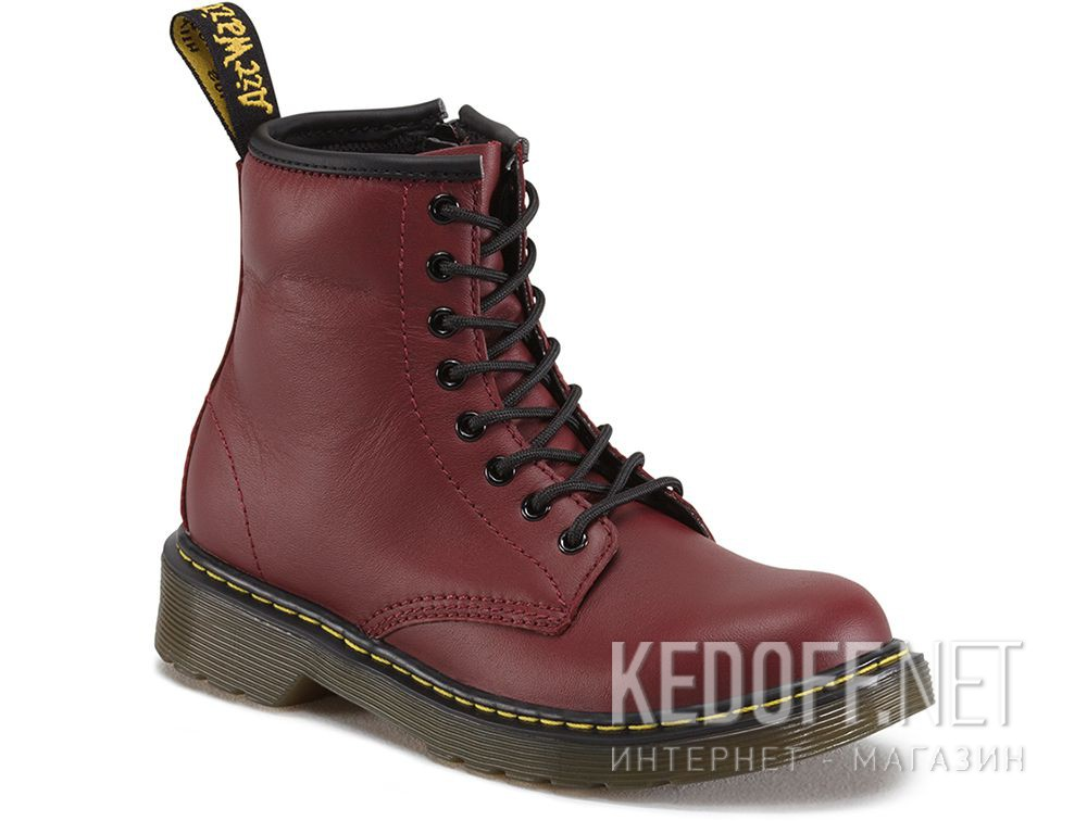 Купить Ботинки Dr. Martens Pascal 1460-15382601 CHERRY RED SOFTY T
