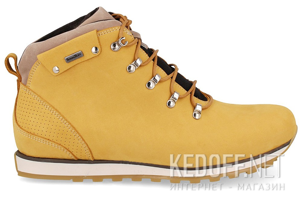 Ботинки Forester Urban Balance 02-0345-004 Yellow Nubuk Boots Sympatex Insulated