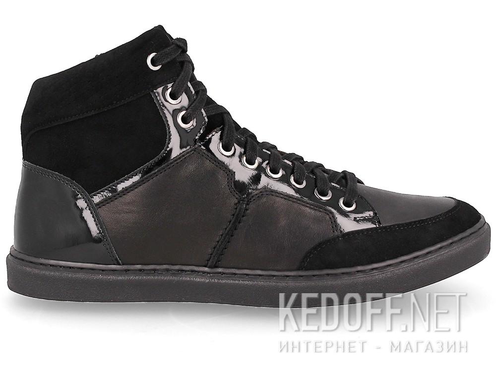Мужские кожаные кеды Forester 02-0346-001   купить Киев