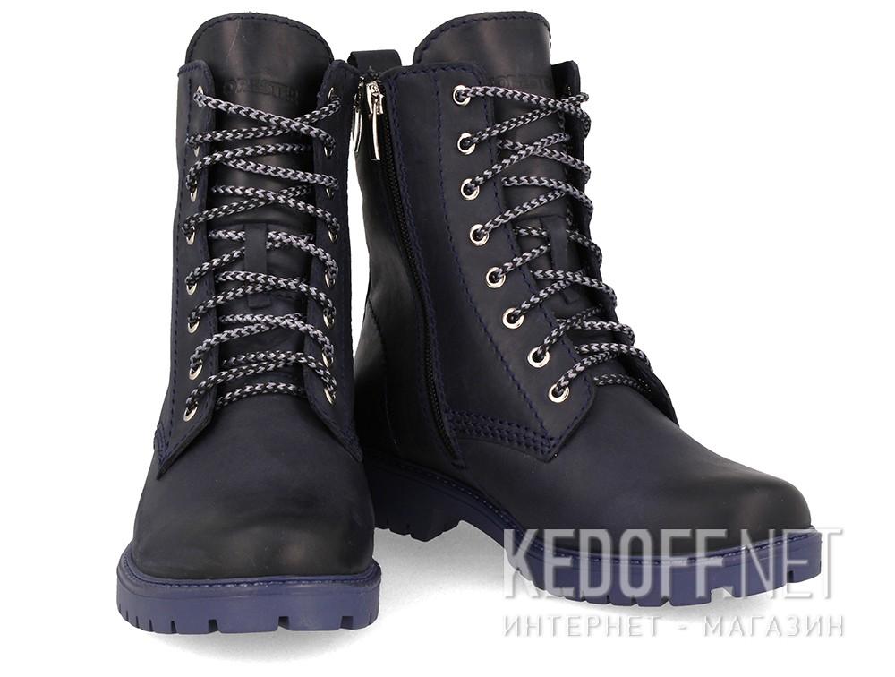 Тимберленды Forester 3558-8989 унисекс   (тёмно-синий) купить Киев