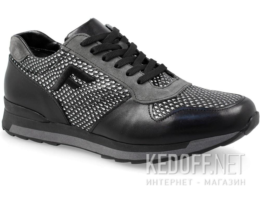 Купить Кроссовки Forester 7828-3727 (чёрный/серый)