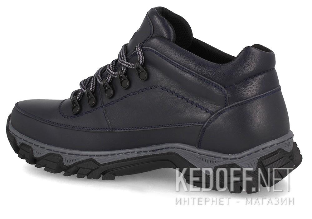 Мужские зимние кроссовки Forester 7843-105   (тёмно-синий) купить Украина