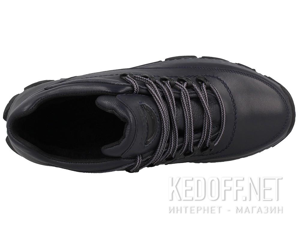 Мужские зимние кроссовки Forester 7843-105   (тёмно-синий) купить Киев