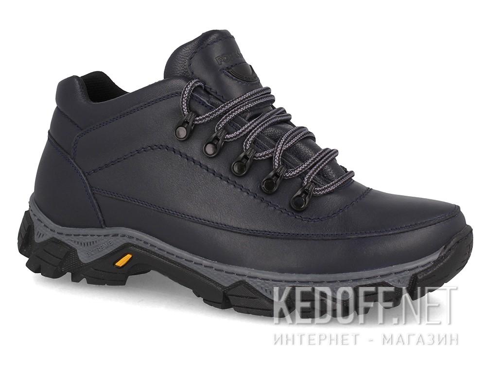 Купить Мужские зимние кроссовки Forester 7843-105   (тёмно-синий)