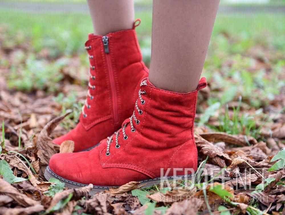 Ботинки Forester Serena Lady Red 3552-47 все размеры