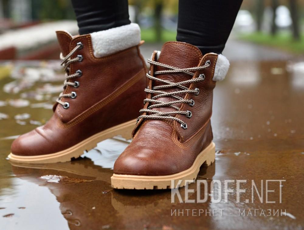 Доставка Ботинки Forester Light brown Leather 0610-74
