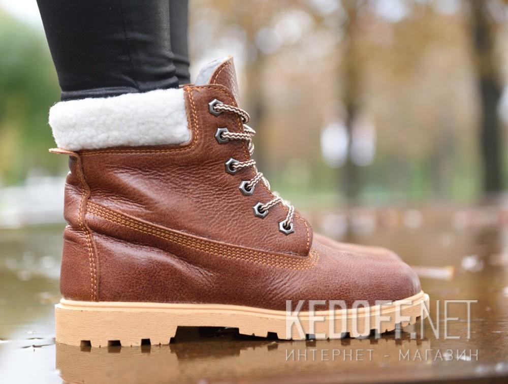 Цены на Ботинки Forester Light brown Leather 0610-74