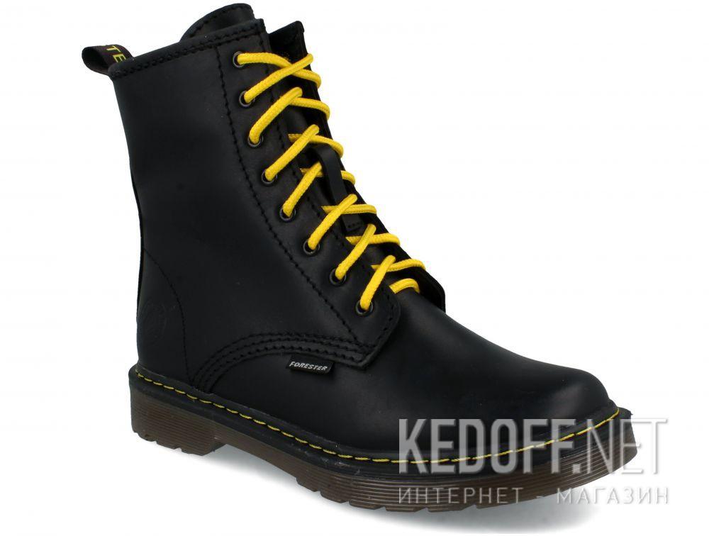 Ботинки Forester Serena Black Zip 1460-27 купить Украина