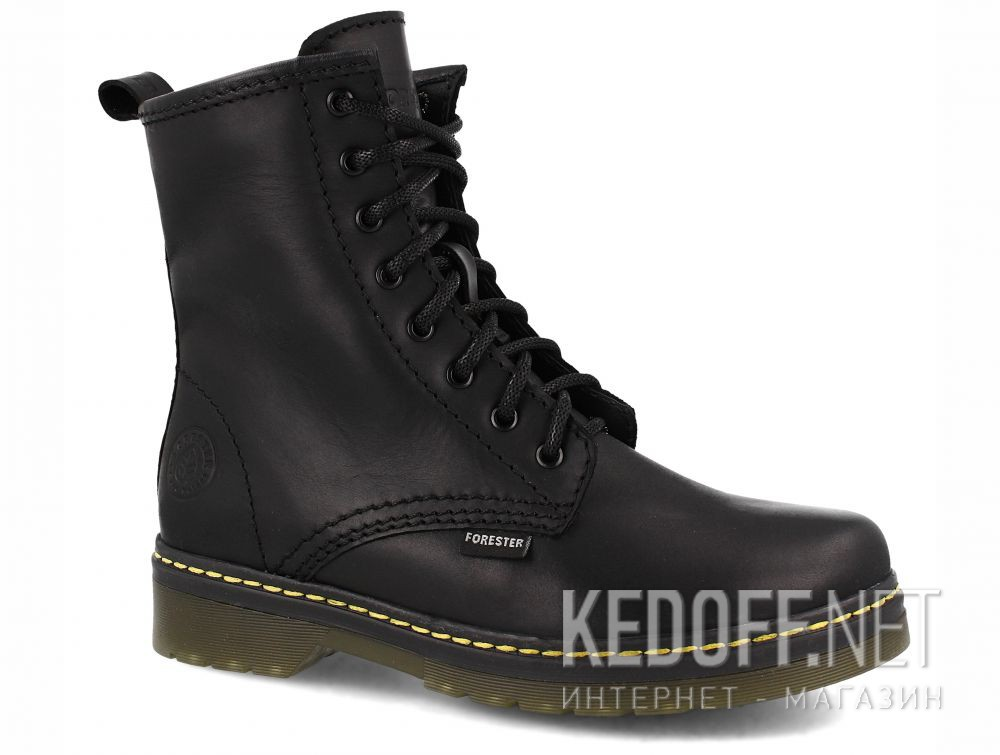Купить Ботинки Forester Serena Black Zip 1460-27