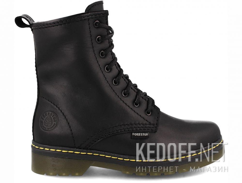 Ботинки Forester Serena Black Zip 1460-27 описание