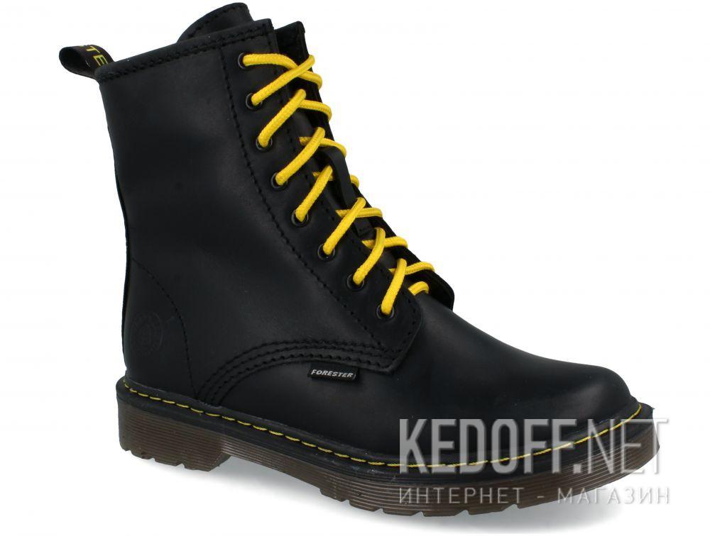 Ботинки Forester Serena Black Zip 1460-27 купить Киев