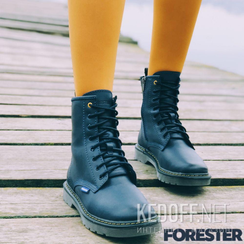 Доставка Черевики Forester Serena Navy Zip 1460-89
