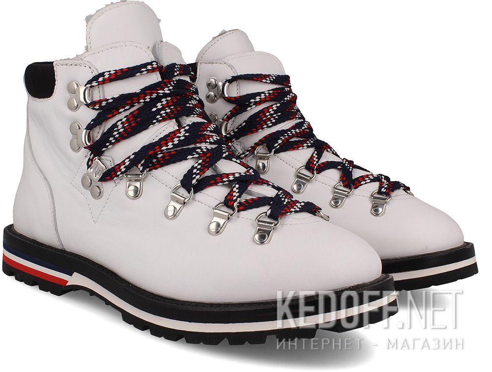 Ботинки Moncler Blanche Boots White Vibram - Made in Italy купить Украина
