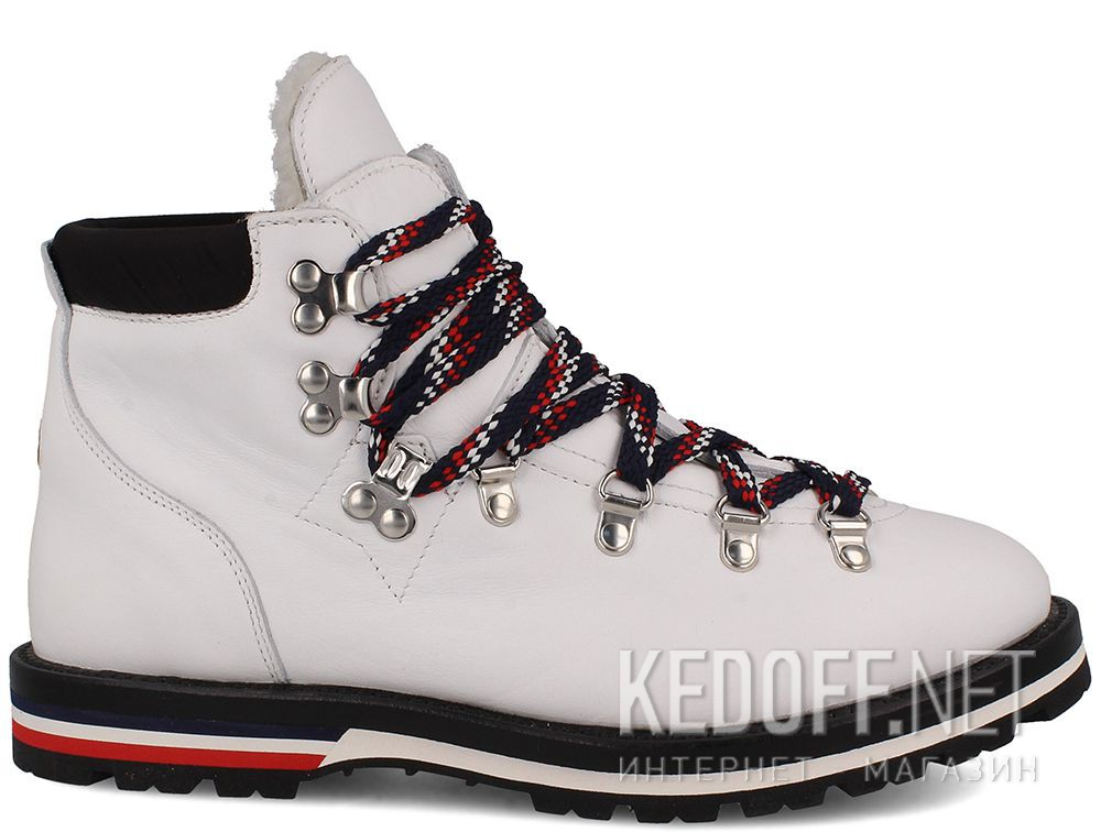 Ботинки Moncler Blanche Boots White Vibram - Made in Italy купить Киев