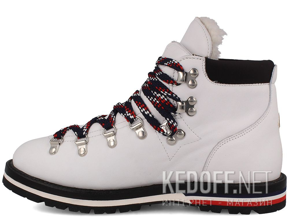 Оригинальные Ботинки Moncler Blanche Boots White Vibram - Made in Italy