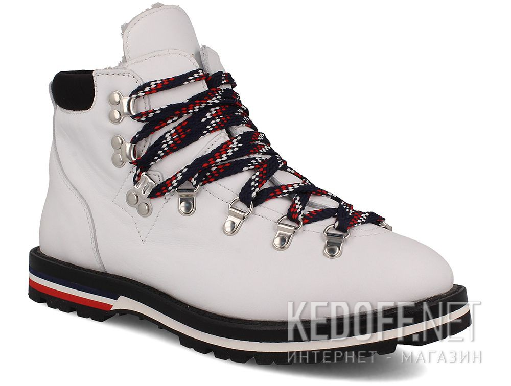 Купить Ботинки Moncler Blanche Boots White Vibram - Made in Italy