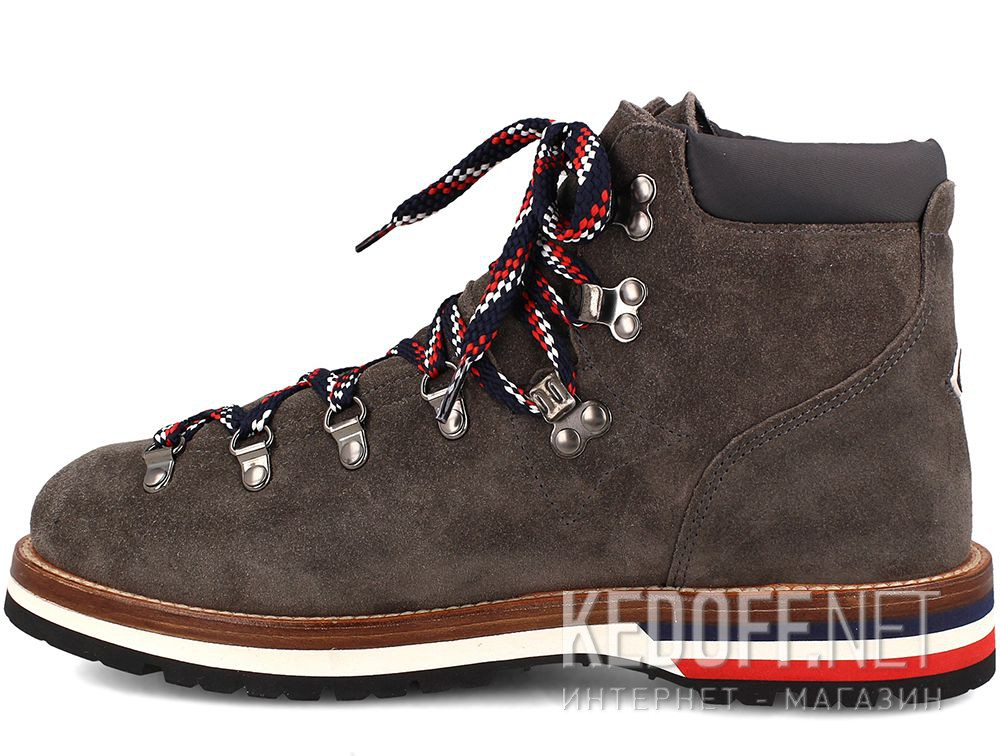 Ботинки Moncler Peak Grey Vibram Made in Italy купить Киев