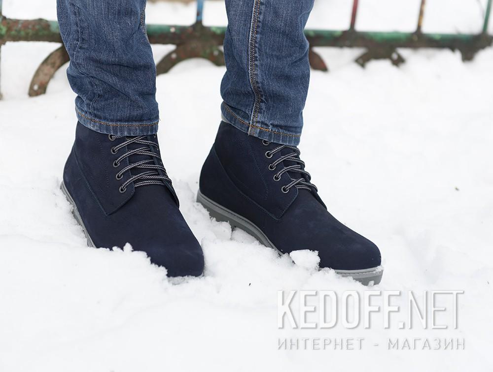 Мужские ботинки Forester 8751-052    все размеры