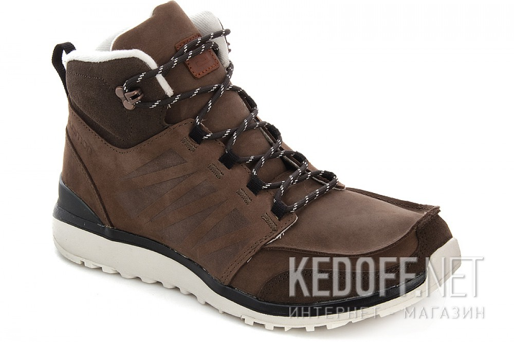 Купить Мужские ботинки Salomon Salomon UTILITY BROWN LTR/BISON LTR/GY 361651   (коричневый)