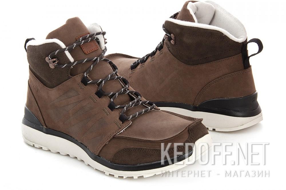 Мужские ботинки Salomon Salomon UTILITY BROWN LTR/BISON LTR/GY 361651   (коричневый) купить Украина