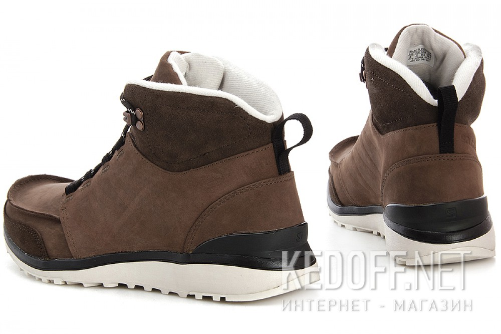 Мужские ботинки Salomon Salomon UTILITY BROWN LTR/BISON LTR/GY 361651   (коричневый) купить Киев