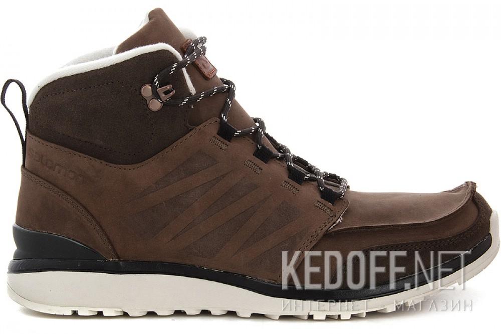 Мужские ботинки Salomon Salomon UTILITY BROWN LTR/BISON LTR/GY 361651   (коричневый) описание