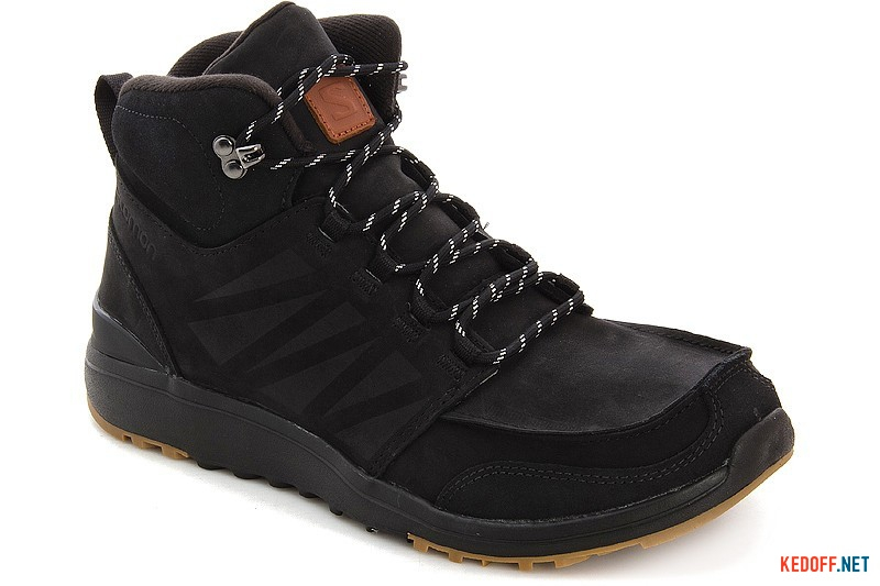 Ботинки Salomon Utility 366425 Black Nubuk