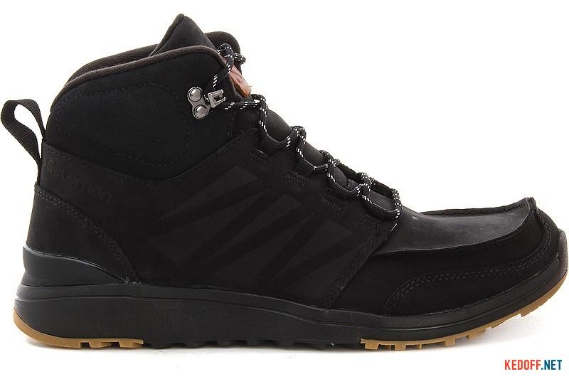 Boots Salomon Utility 366425 Black Nubuk