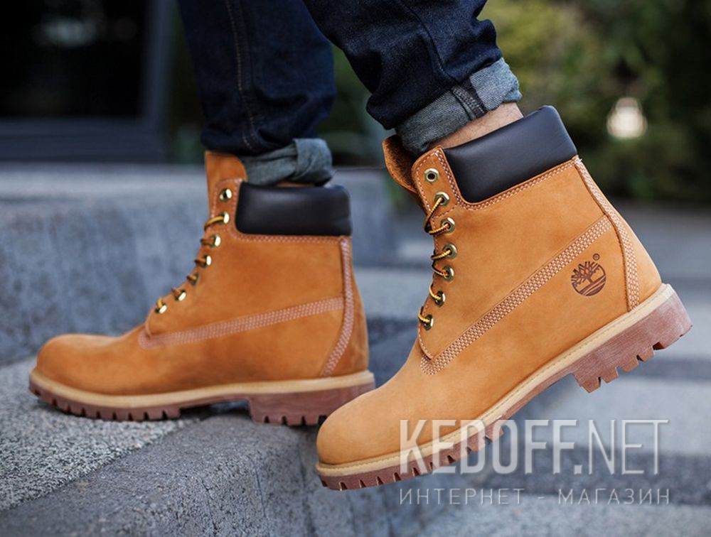 Ботинки Timberland Classic Premium Waterproof 6-inch 14949 Rust Honey описание