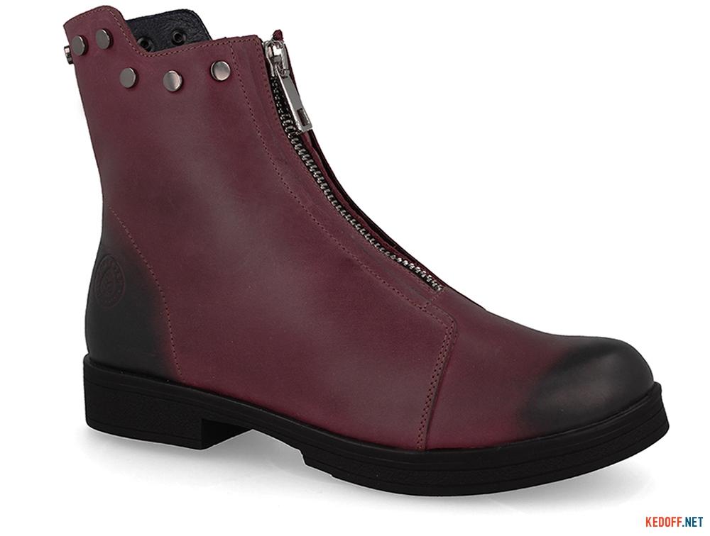 Купити Жіночі черевички Forester 3503-48 BURGUNDY