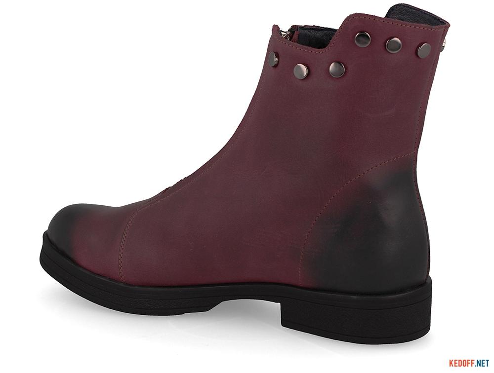 Жіночі черевички Forester 3503-48 BURGUNDY купити Україна