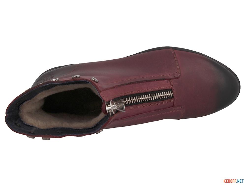 Оригинальные Жіночі черевички Forester 3503-48 BURGUNDY