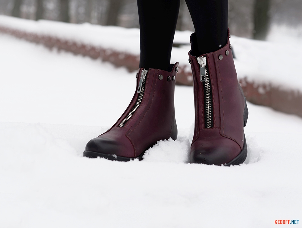Цены на Жіночі черевички Forester 3503-48 BURGUNDY