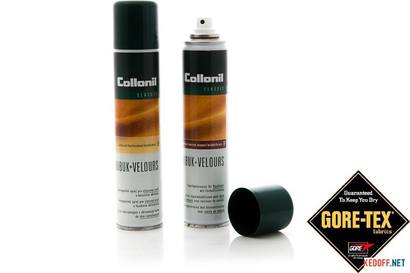 Купить Защита для замшевой обуви Collonil Nubuk Velours TEX 1045   (коричневый)